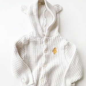 Classic Winnie the  Pooh Hooded Sweater 12-18M